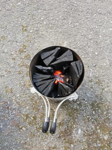 火おこし器